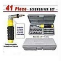 41 PCs Tool Kit In Moulded Plastic Case