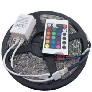 Skunk LED Strip Light With Remote Multi Color 5m