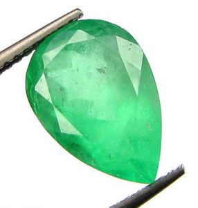Certified 3.97cts 100% Transparent Colombian Emerald/panna