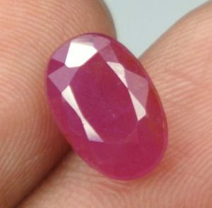 Top Grad 4.61ct Certified Unheat Burma Ruby/manak