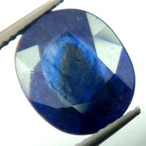 Lab Certified Premium 5.40cts Natural Blue Sapphire/neelam
