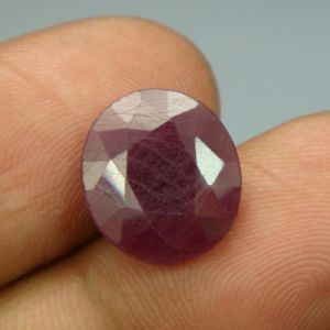 Lab Certified 6.33ct{7.03 Ratti}natural Untreated Ruby/manek(surya)