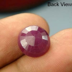 Lab Certified 6.34ct{7.04 Ratti}natural Untreated Ruby/manek(surya)