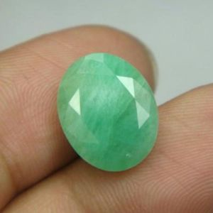 Lab Certi 7.45ct Natural Zambian Emerald/pana-budh