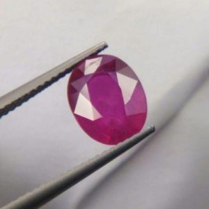 Premium 3.71ct Lab Certified Natural Ruby/manek