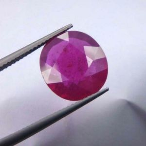 Premium 7.98ct Lab Certified Natural Ruby/manek