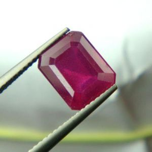 Top Grade 5.33cts Lab Certified Natural Ruby/manek