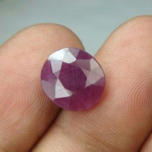 Lab Certified 5.92ct Natural Untreated Ruby/manek
