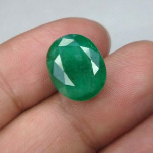 Top Grade 10.58ct Certified Zambian Emerald/panna
