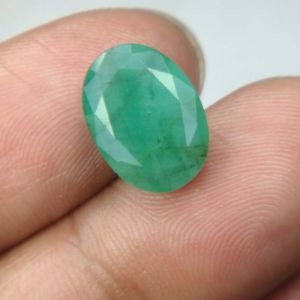 Lab Certified 4.97cts Natural Untreated Emerald/panna