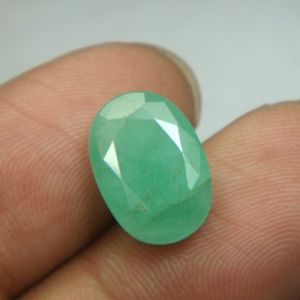 Certified 4.95cts Natural Untreated Emerald/panna