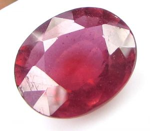 Premium 6.87ct Lab Certified Natural Ruby/manek(for Surya)