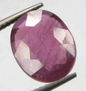 Premium Lab Certified 5.95cts Natural Transparent Mozambique Ruby/manek