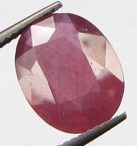 Premium Lab Certified 5.60cts Natural Transparent Mozambique Ruby/manek