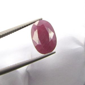 Lab Certified Premium Grade 5.68cts Unheated/untreated Natural Ruby/manek