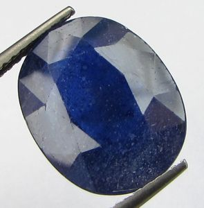 Lab Certified 9.81cts Natural Blue Sapphire/neelam(for Shani/saturn)