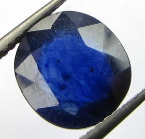 Lab Certified 4.99cts Natural Blue Sapphire/neelam(for Shani)
