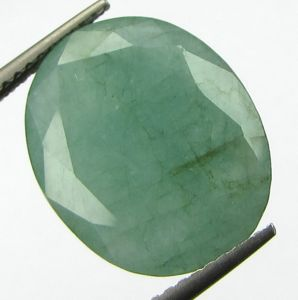 Lab Certi 8.06ct Natural Zambian Emerald/pana-budh