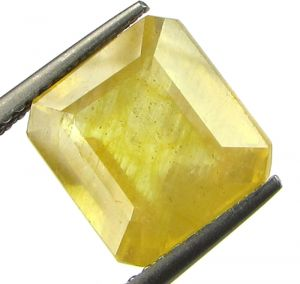 Lab Certified 5.92cts Natural Yellow Sapphire/pukhraj