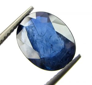 Top 4.40 Ct Certified Natural Blue Sapphire/neelam