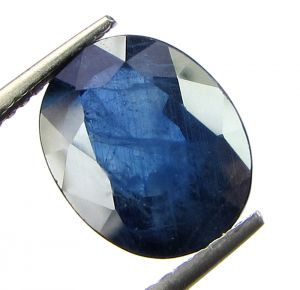 Top 4.17 Ct Certified Natural Blue Sapphire/neelam