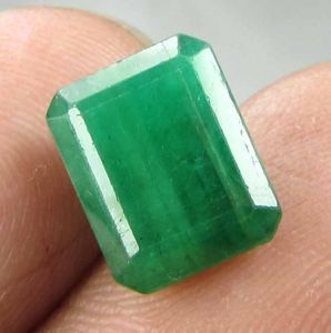 Lab Certified 3.97cts 100% Natural Emerald/panna