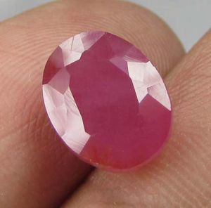 Top Grade 4.40ct Certified Unheated Natural Ruby/manak