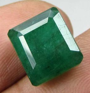Lab Certified 6.11cts Natural Zambian Emerald/panna