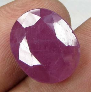 Ruby Stones - Lab Certified Top Grade 10.83cts Unheated/Untreated Natural Ruby
