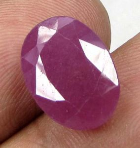 Lab Certified Top Grade 6.74cts Unheated/untreated Natural Ruby
