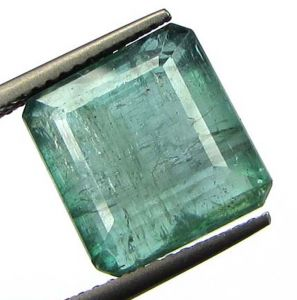Lab Certified 7.62cts Natural Zambian Emerald/panna