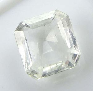 Sapphire Stones - TOP GRADE CERTIFIED 4.82Cts NATURAL COLORLESS SAPPHIRE/WHITE SAPPHIRE