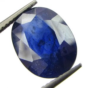 Lab Certified 7.44cts Natural Blue Sapphire/neelam(for Shani/saturn)