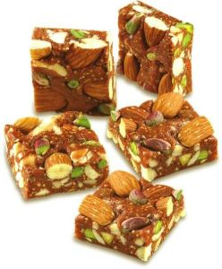 Sugar Free Mithai - Ghasitaram Sugarfree Nut Khut Mithai