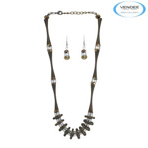 Vendee Party Wear Necklace Jewelry (5743 B)