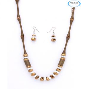 Vendee Bollywood Necklace Jewelry 5744a