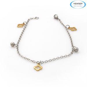 Vendee Fashion Bangles, Bracelets (Imititation) - Vendee Gold Solver Bracelet 6417