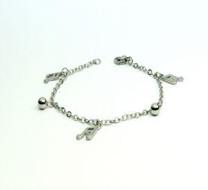 Vendee Fashion Bangles, Bracelets (Imititation) - Vendee Silver Bracelet 6439B