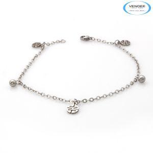 Vendee Fashion Bangles, Bracelets (Imititation) - Vendee Fashion Elegant Silver Bracelet 6450