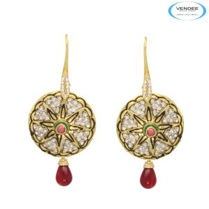 Vendee Pretty Indian Fashion Earrings