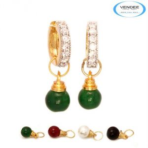 Vendee Fashion Multicolour Brass Earring 6833