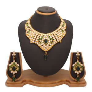 Vendee Fashion Awesome Kundan Necklace Jewelry 7200
