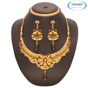 Vendee Fashion Exclusive Design Necklace Set 7542