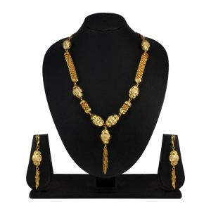 Vendee Fashion Danglers Necklace Set - 7748