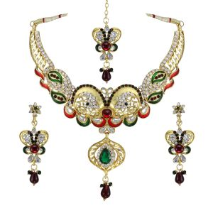 Vendee Fashion Bridal Necklace Jewellery 7783