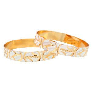 Vendee Fashion Designer Gold Plated Bangle (8259)