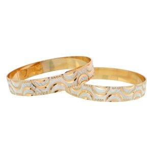 Vendee Fashion Women's Clothing - Vendee Fashion Indian Gold plated bangle set (8269)