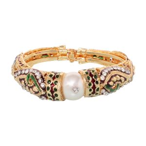Vendee Fashion Bangles, Bracelets (Imititation) - Vendee Fashion Marvellous Design Kada (8281)