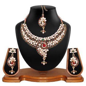Vendee Fashion Fascinating Necklace Set (8504)