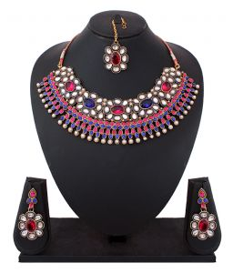 Eye-catching Indian Traditional Bridal Necklace Set